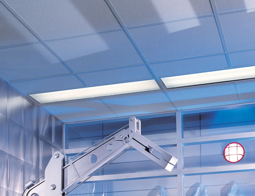 Suspended Ceilings Clean Room Clima Plus Usg Boral